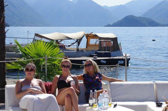 Lido di Bellagio: Boat