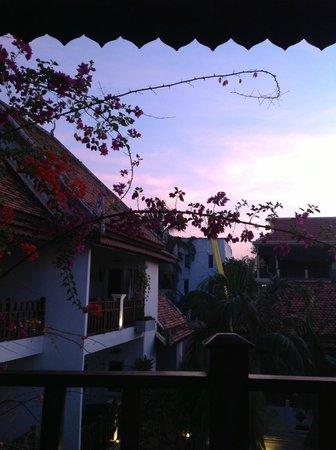 Rambutan Resort - Siem Reap: Sunset from my balcony.
