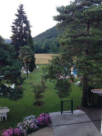Hostellerie des 7 molles : A quiet, cool morning