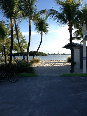Ibis Bay Beach Resort: Nice, quiet, private sandy beach area behind hotel.