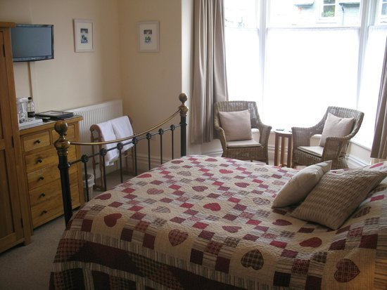 Clarence House: Room 3, King Size en-suite