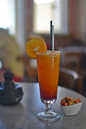 Meteor Cafe: Tequila sunrise