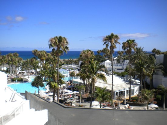 ClubHotel Riu Paraiso Lanzarote Resort : view from room