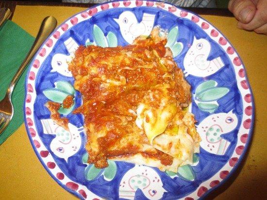 Cacio Vino Trallallà : Delicious Lasagna!