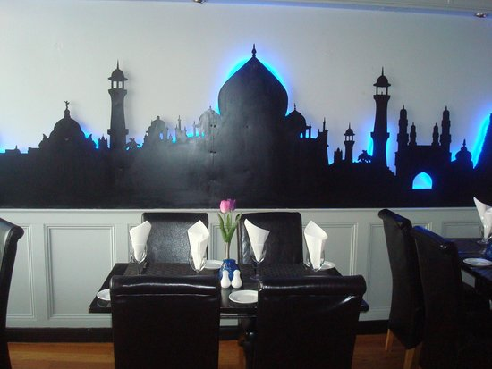 Mogul Restaurant: Interior of Restaurant