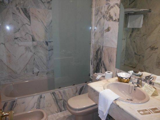 Hotel Astures: Baño