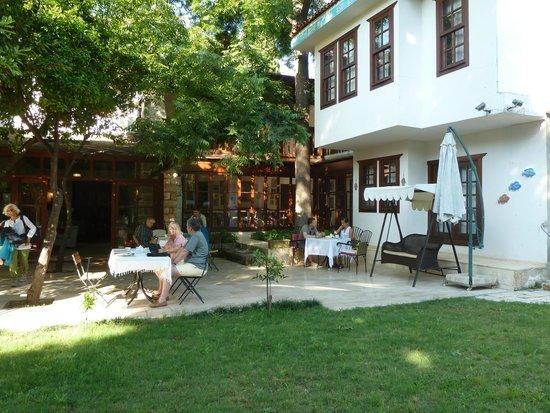 Ninova Boutique Hotel : Garden terrace