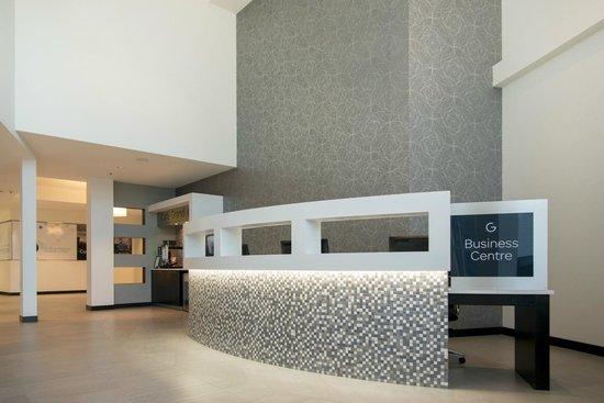 The Grand Winnipeg Airport Hotel: Business centre