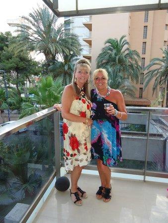 Hotel Perla: Our balcony