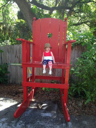 The Children's Garden: Big Chair