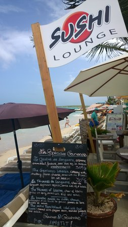 The Sun Beach Clubber : Amazing cuisine and menu options