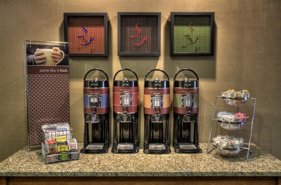 Hampton Inn Jonesville/Elkin: coffee