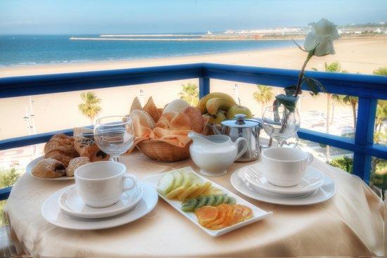 Hotel Puertobahía & Spa: Terraza Vista Mar
