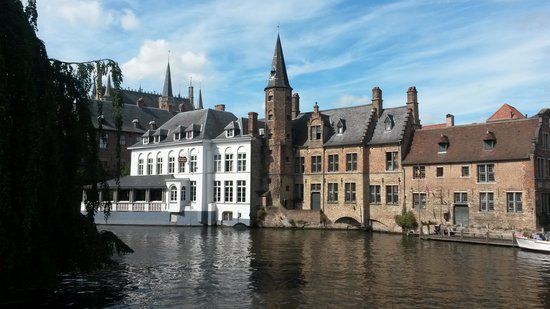 Maison Printaniere Bed & Breakfast : Canal trip Bruges