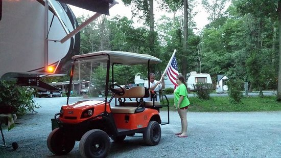 """Yogi Bear's Jellystone Park Camp-Resort in Quarryville: our """"ride"""" for the weekend"""