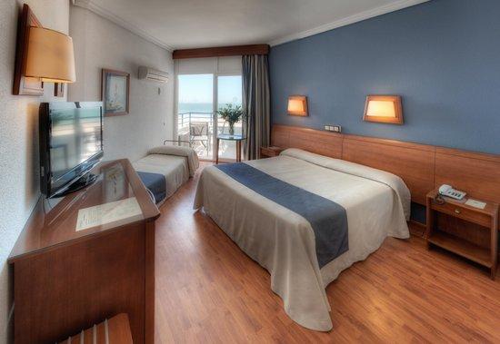 Hotel Puertobahía & Spa: Habitación Doble+Supletoria Vista Mar