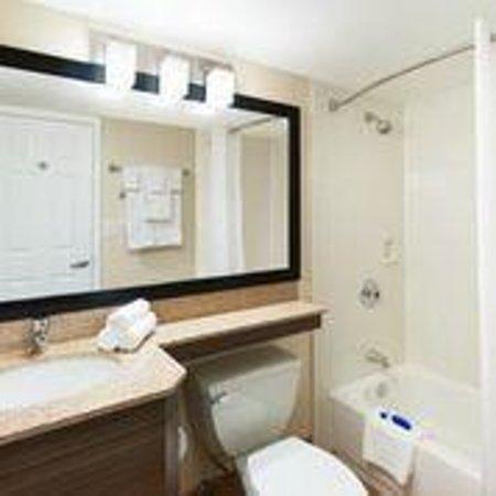 Best Western Leisure Inn: Standard guest bathroom