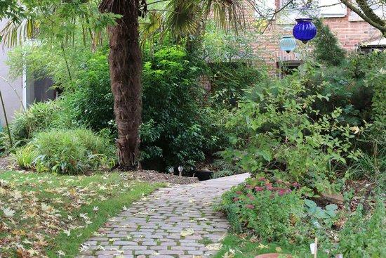 Le Corrigot: Le jardin