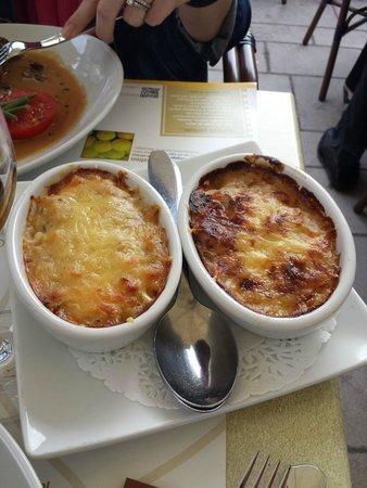Chevaliers Les: potato gratin