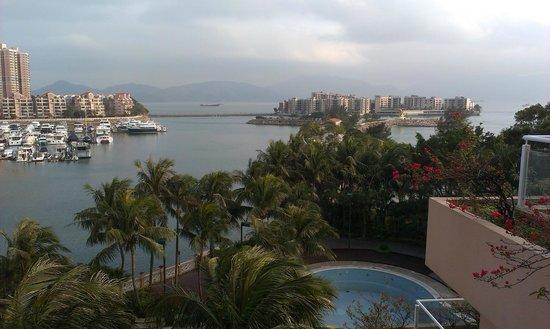 Hong Kong Gold Coast Hotel: View from room 304 balcony.