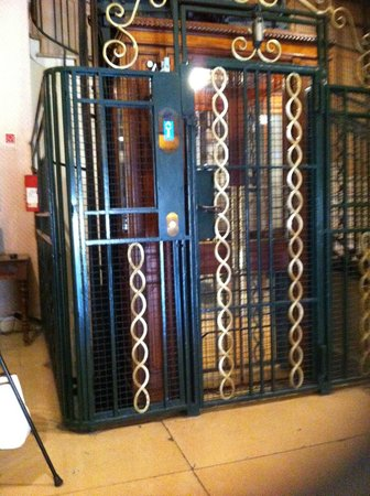 Hotel Imperator: The wildly outdated and temperamental caged elevator