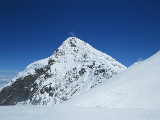 Jungfraujoch: views from the open terrace