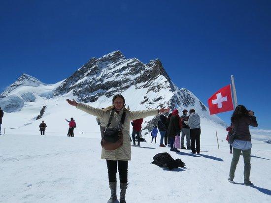 Jungfraujoch: jungfrau