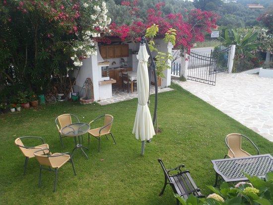 Villa Karina: garden