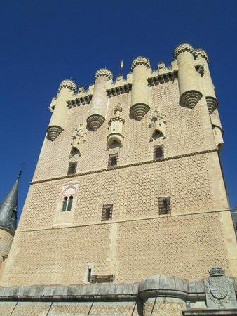 Alcazar de Segovia: Frontal