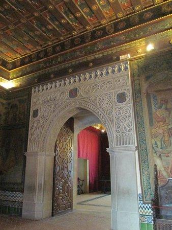 Alcazar de Segovia: Sala del Trono