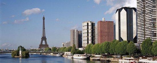 Novotel Paris Centre Tour Eiffel : Visão da Torre Eiffel