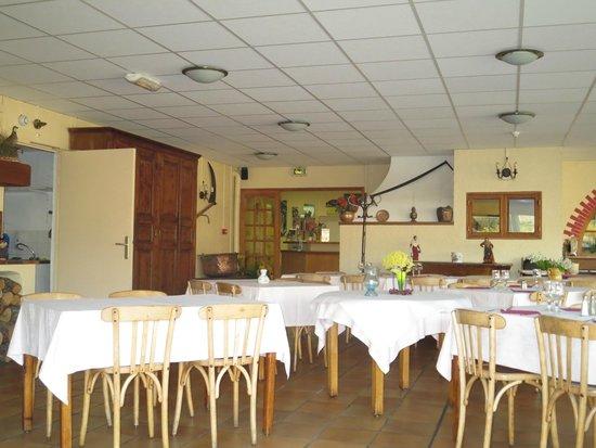 Hotel du Grand Canyon du Verdon : restaurant