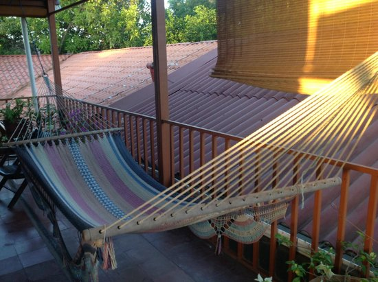 Hostal La Tortuga Booluda: Room 8 private terrace
