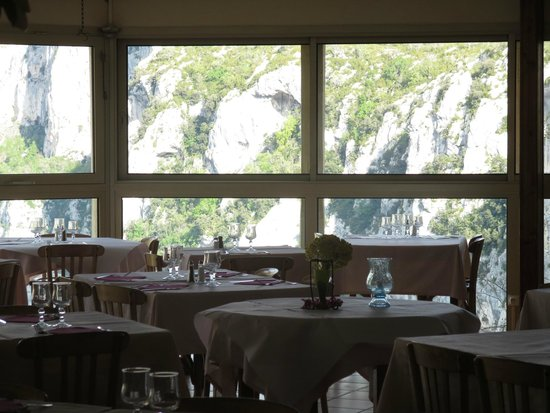 Hotel du Grand Canyon du Verdon : dinning