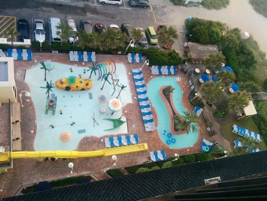 Sea Crest Oceanfront Resort : A Picture of Some of Their Pools