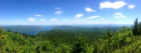 Black Mountain Loop: the view at the summit