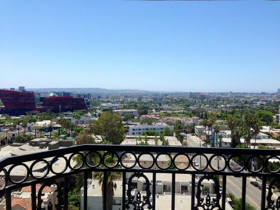 The London West Hollywood at Beverly Hills: South facing view