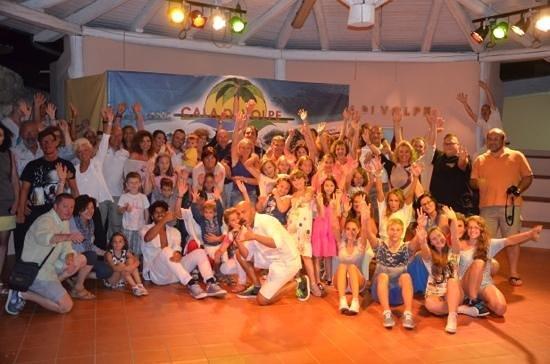 Hotel Cala di Volpe: Una delle tante serate in allegria