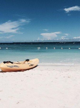 Shangri-La's Mactan Resort & Spa : free kayak