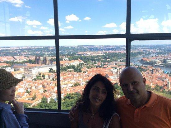 Aparthotel City 5: Vista dalla Lookout Tower della collina di Petrin