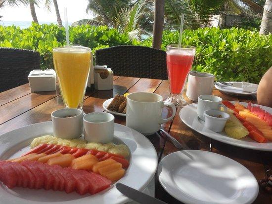 Cabanas Tulum: Breakfast