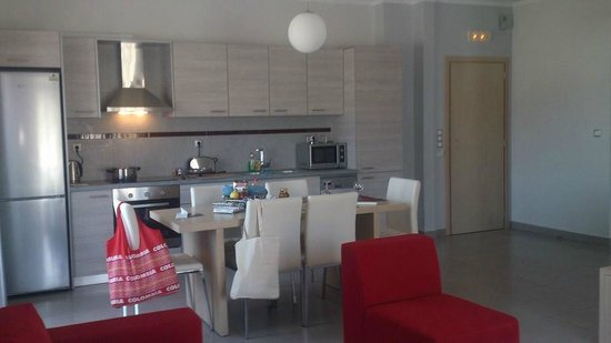 Daniel Luxury Apartments & Hotel: Kitchen/hall
