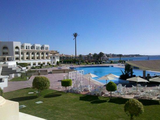 Old Palace Resort: вид из номера