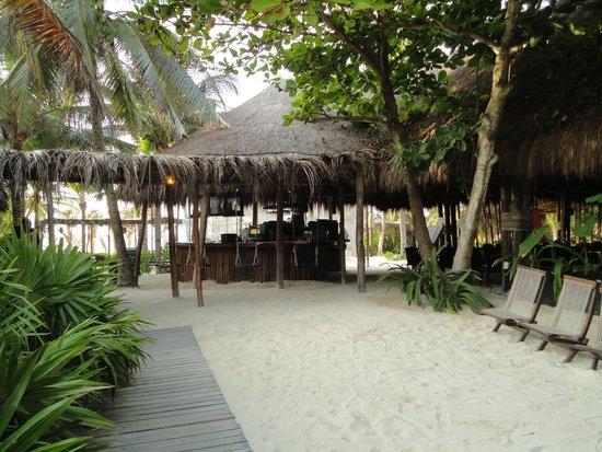 Hotel Cabanas Tulum : Ziggy bar