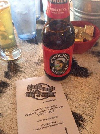 Sagebrush BBQ & Grill : Lunch & a cider