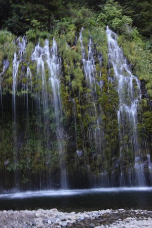 Mossbrae Falls: I haven't seen falls like this since I lived in Hawaii.