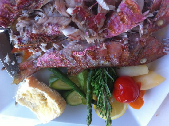 "Migomis Restaurant : ""Red mullet"""