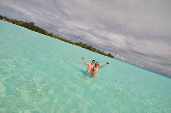 Bora Bora Photo Lagoon : Champagne Toast