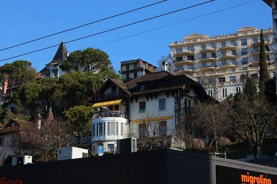 Grand Hotel Suisse Majestic: Vista desde mi cuarto