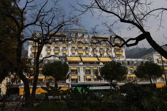 Grand Hotel Suisse Majestic: Fachada del hotel